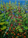 In the Garden of Lost Memory #14 36x48 TS2005-17 Sold.JPG