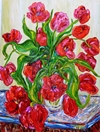 Katie Brought Me Flowers #3 48x36 TS2014-4 Sold.JPG