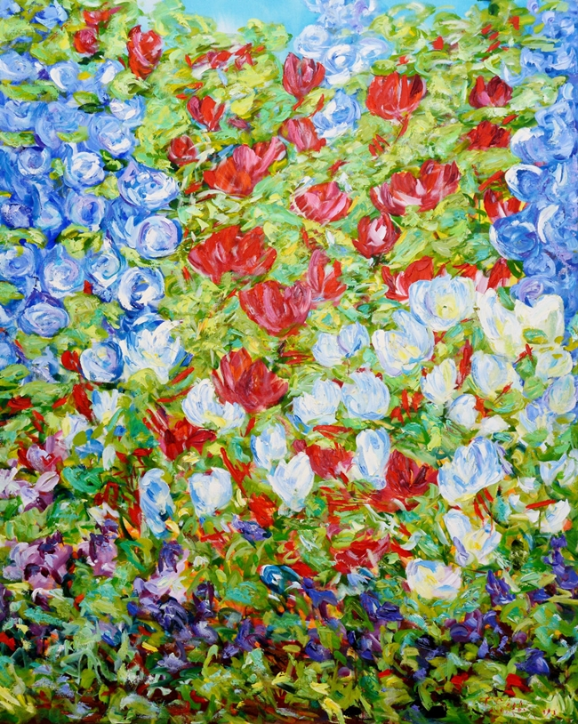 Never Promised You a Rose Garden - Tricia Sellmer - Contemporary ...