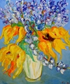 Someone Brought Me Flowers #2 36x30 TS2006-2 Sold.JPG